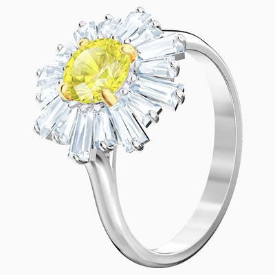 Swarovski sunshine ring, $179