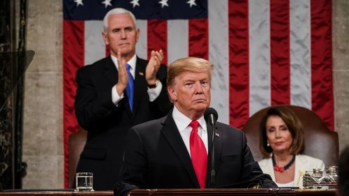 Donald Trump delivers his second State of the Union speech.