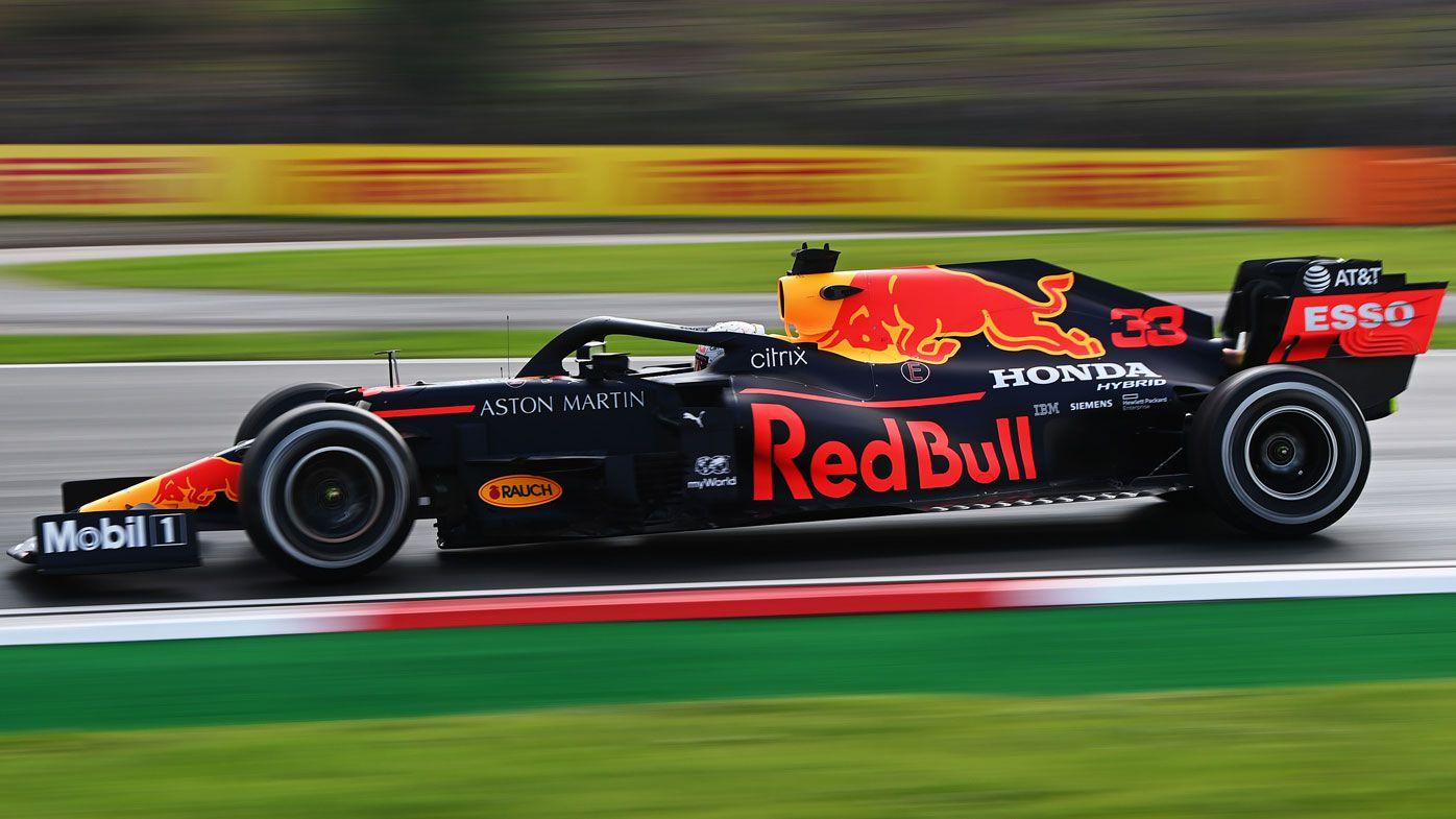 Verstappen fastest in slippery 1st practice for Turkish GP
