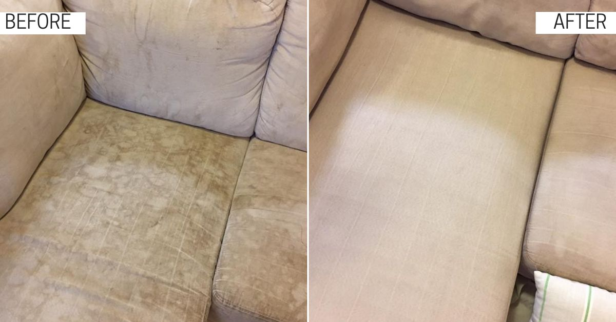 DIY cleaning hack to clean your couch