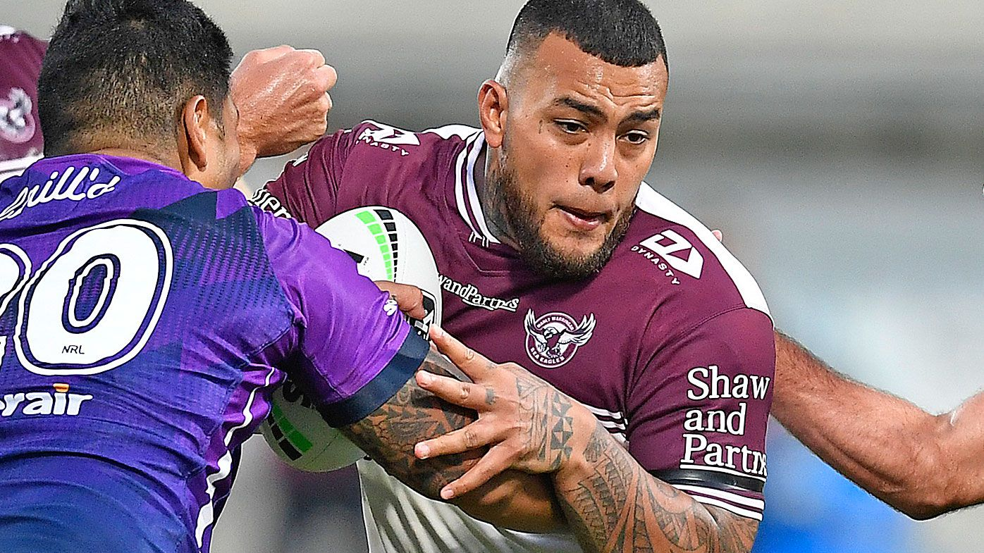 Addin Fonua-Blake of the Sea Eagles