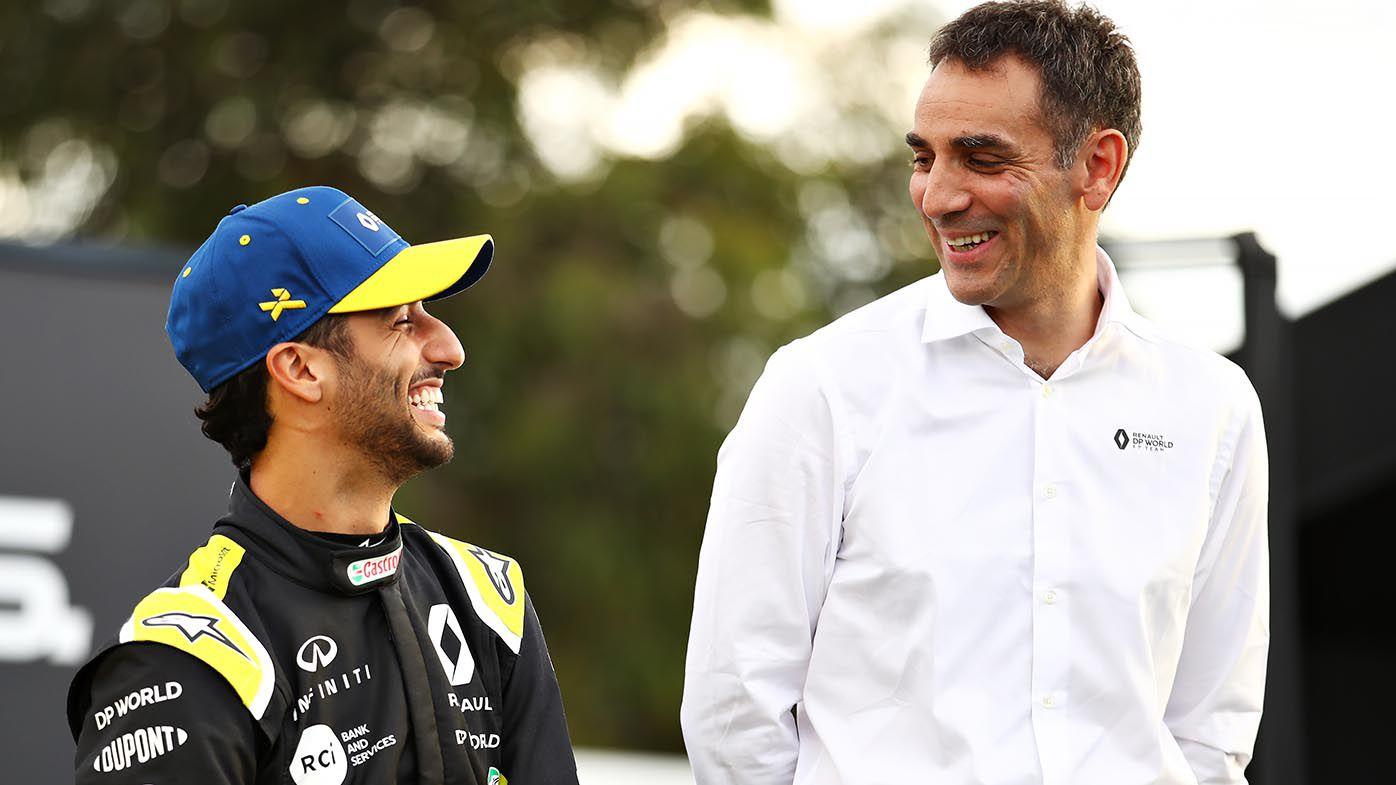 F1 team principal Cyril Abiteboul leaves Renault ahead of rebranding as Alpine