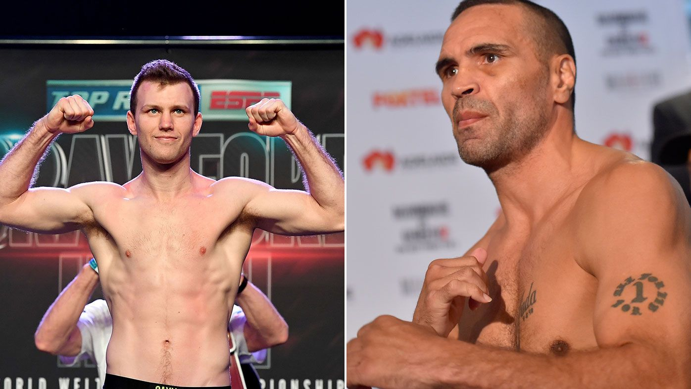 Jeff Horn confirms Mundine bout