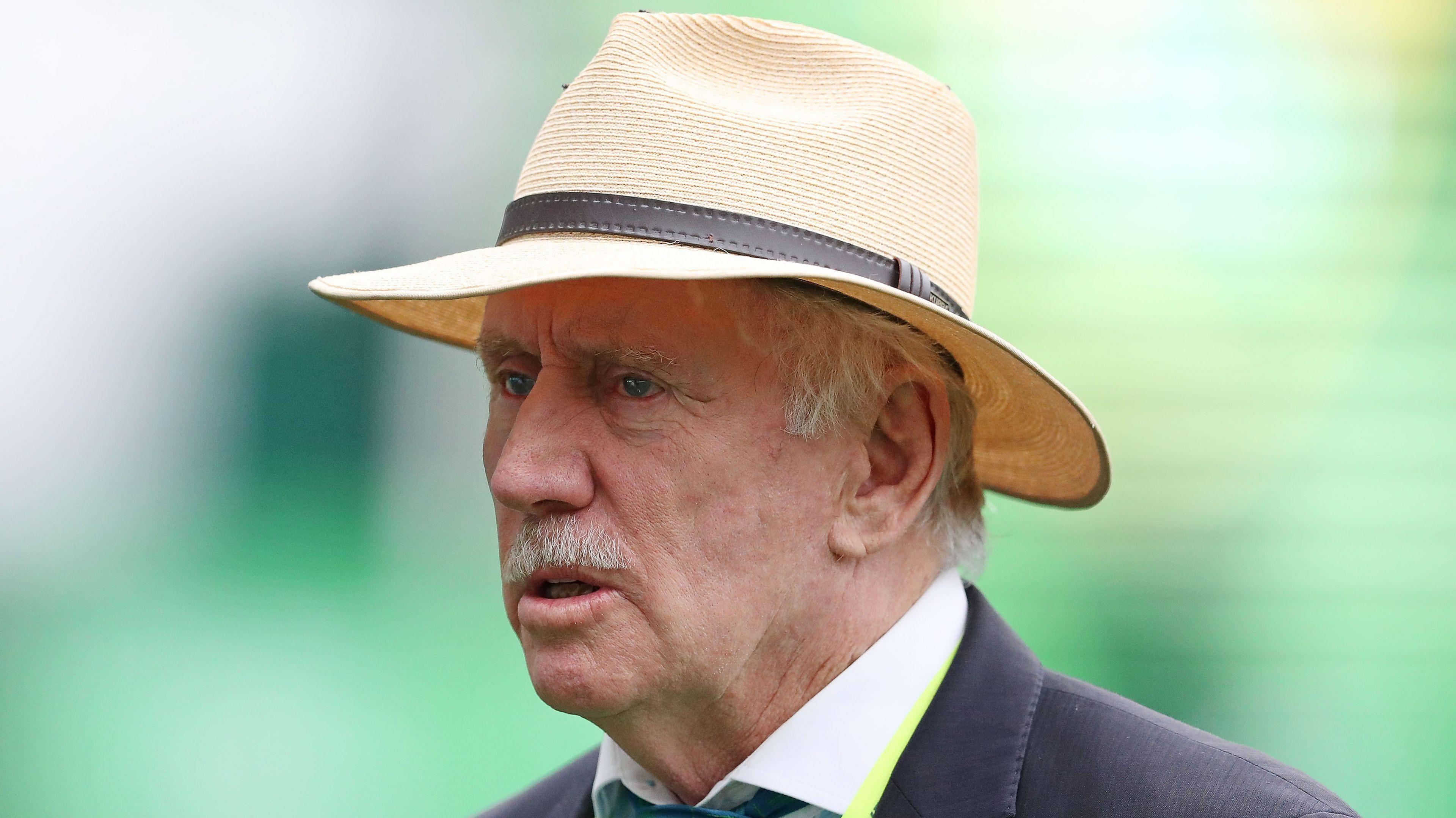 Australian cricket legend Ian Chappell.