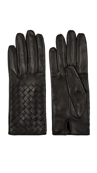 "<a href=""http://www.net-a-porter.com/au/en/product/572800"" target=""_blank"">Intrecciato Leather Gloves, $348.50, Bottega Veneta at net-a-porter.com</a>"