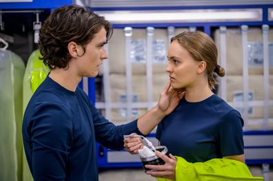 Voyagers, movie, Lily-Rose Depp, Fionn Whitehead, filming