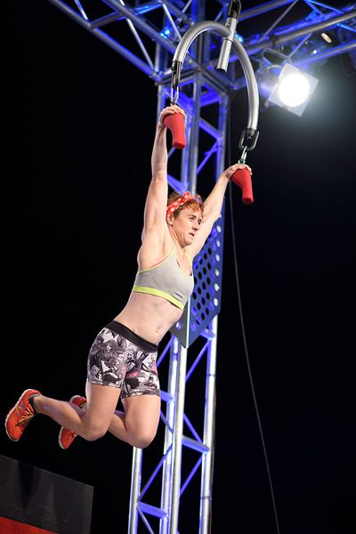 Firefighter Anna Pidgeon out to prove that women can do anything men can do.