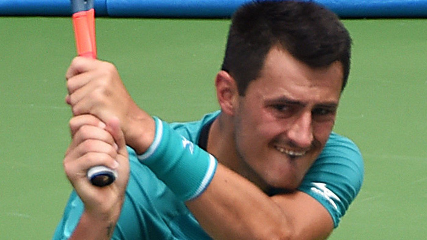 Bernard Tomic has quit nearly a year's worth of matches, says Todd Woodbridge