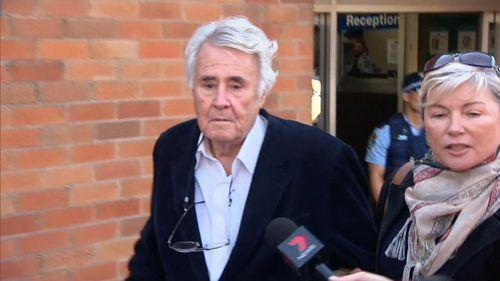 Richard Reid outside court.