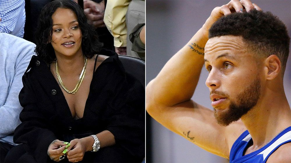 Stephen Curry takes a dig at Rihanna following reported beef with Kevin Durant