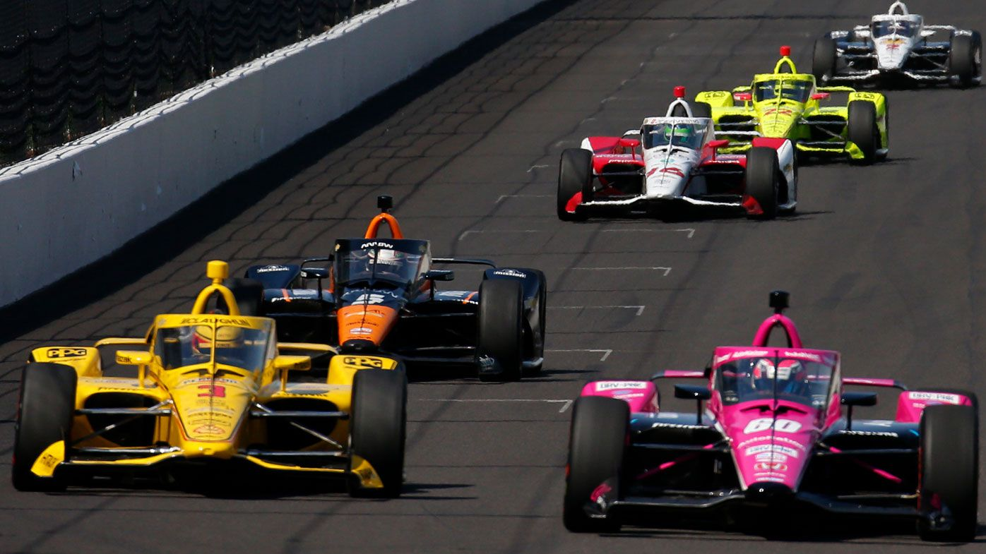 Indy 500 open testing. (Getty)