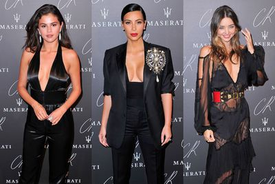 """Every celeb on the planet (well, all the stylish ones) turned out to celebrate ex-<i>Vogue</i> editor Carine Roitfeld's new """"magazine of style and inspiration"""". <br/><br/>The event, held as part of the Paris Fashion Week, drew the likes of Kim Kardashian West, Selena Gomez, Miranda Kerr and many more to its luxe black carpet. <br/><br/>Click through to see who else attended... and more importantly, what they wore!"""