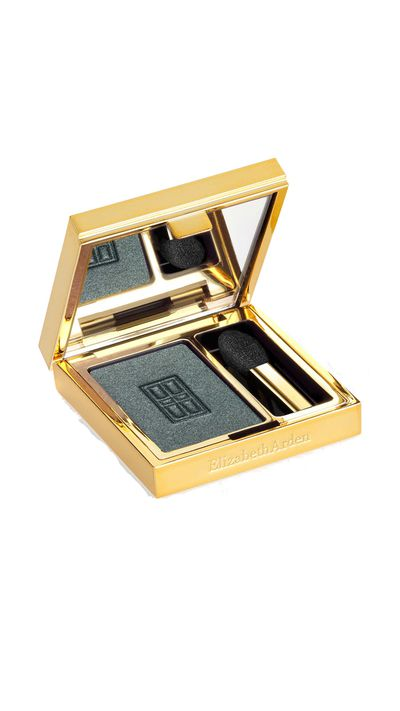 "<a href=""http://www.elizabetharden.com.au/"" target=""_blank"">Beautiful Colour Eye Shadow in Shimmering Emerald, $38, Elizabeth Arden.</a>"