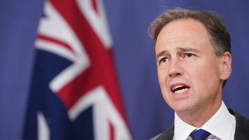 Health Minister Greg Hunt slammed Mr Shorten's refusal to answer questions on private health. (AAP)