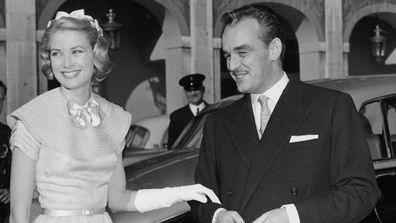 Prince Rainier of Monaco and Grace Kelly, 26 years