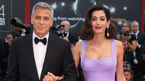 The 56-year-old currently lives with his wife, Amal Clooney, in Italy.