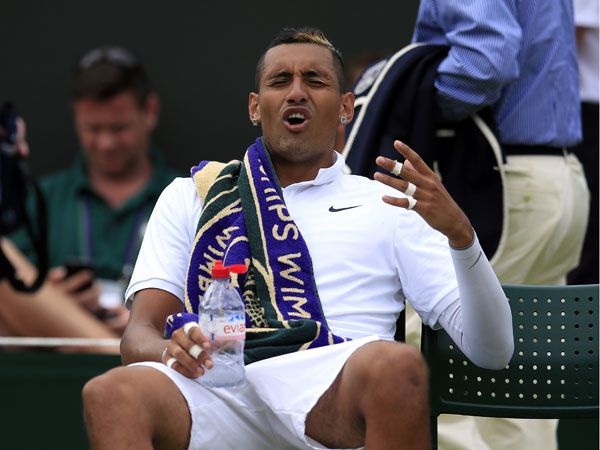 """Confused Kyrgios may need to 'bottom out"""", says psychologist"""