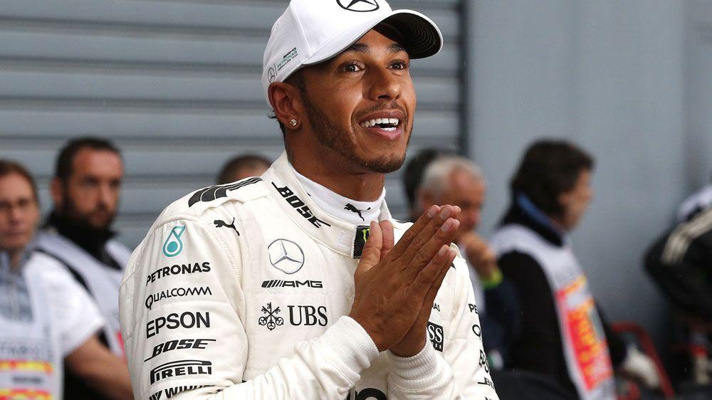 Mercedes driver Lewis Hamilton takes record pole at Monza