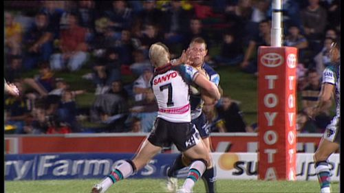 O'Donnell was known as a feared enforcer during his NRL career.