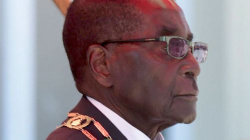 Zimbabwe's Mugabe delivers wrong speech in parliament