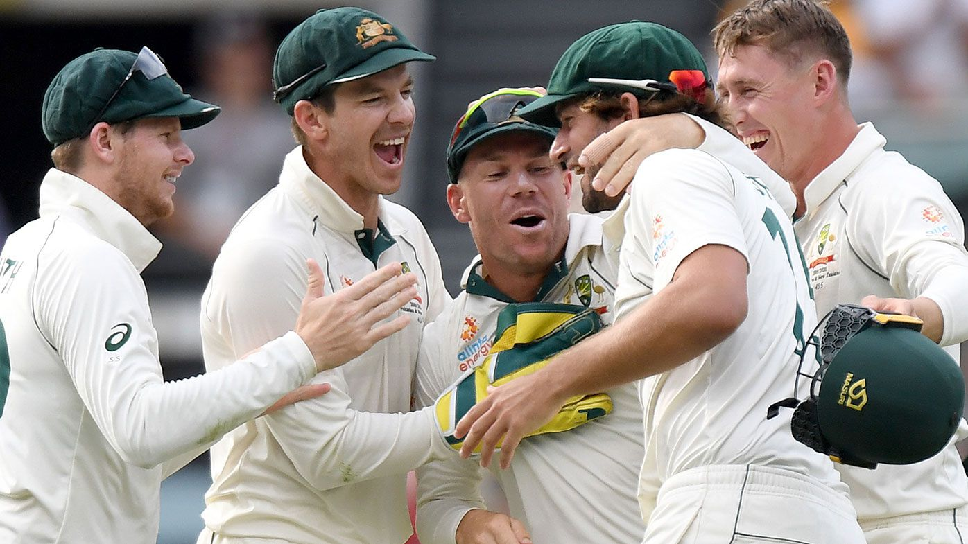 Australia wrapped up the first Test by an innings and five runs.