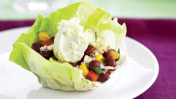 Taco salad wraps