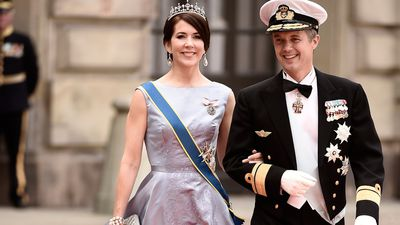 Princess Mary and Prince Frederik's love story in photos
