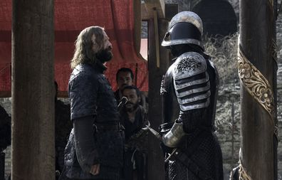 The Hound and The Mountain on Game of Thrones