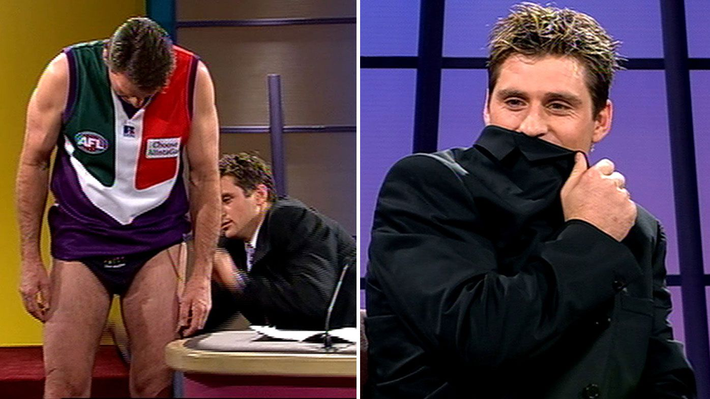 Shane Crawford feared losing captaincy after infamous Sam Newman dacking incident