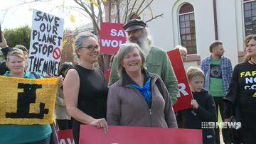 three face court in landmark ruling