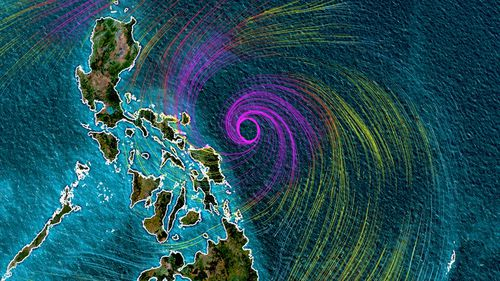Heavy rain from Typhoon Surigae could produce flooding, flash flooding and rain-induced landslides.