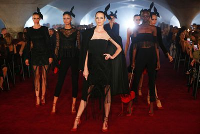 """It's a different kind of sexiness,"" says Myer ambassador Jodi Anasta. Myer Autumn/Winter 2017."