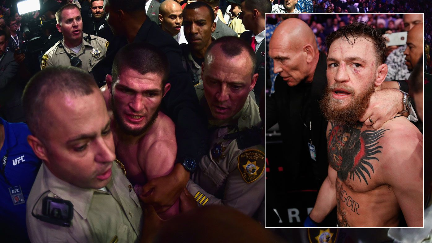 UFC 229: Conor Mcgregor and Khabib Nurmagomedov receive first suspensions from Nevada Athletic Commission