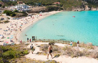 Spiaggia di Rena Bianca, Sardinia