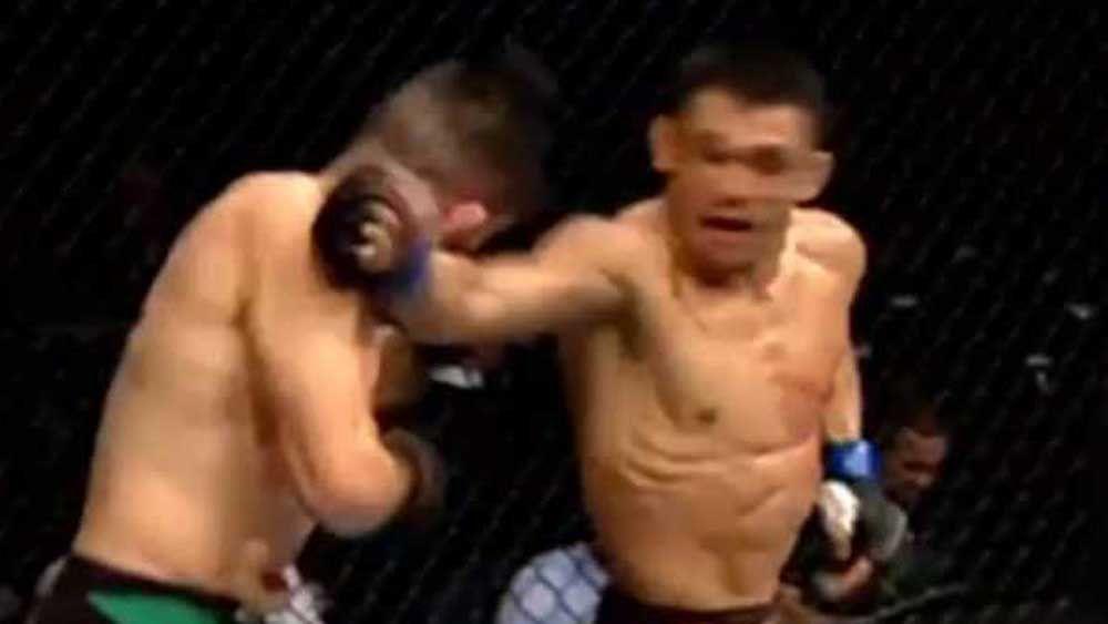 UFC: Silva unleashes savage spinning back-fist