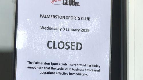 Darwin Palmerston Sports Club closure