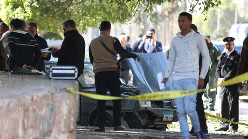 Egypt militant group claims Cairo bombing that killed six police officers