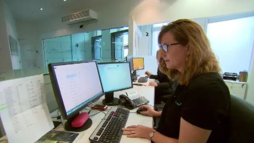 Staff only get to leave after five hours if all the required work is complete. (9NEWS)