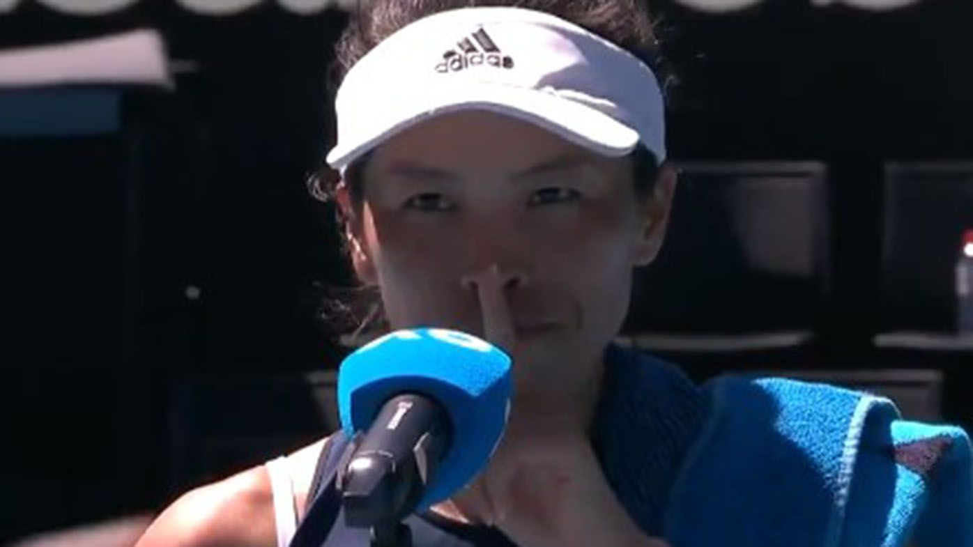 Australian Open early rounds produce classic cases of awkward on-court interviews