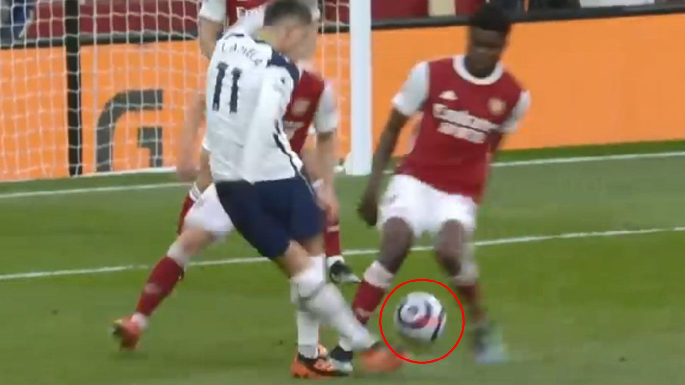Erik Lamela goes from hero to villain after a goal and red card in London derby against Arsenal