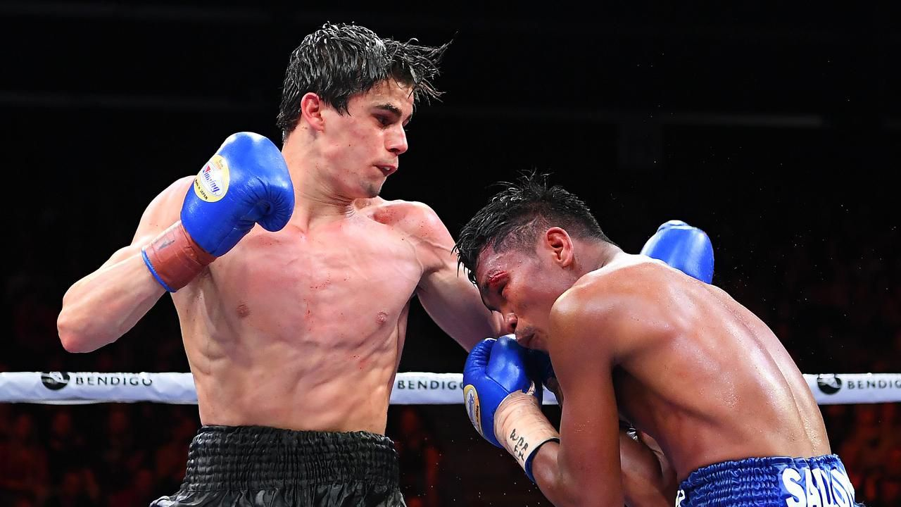 'He just keeps getting better': Australian boxing young gun Brock Jarvis extends record to 18-0 with defeat of Mark Schleibs