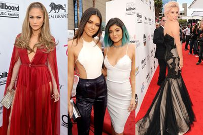 The red carpet for the 2014 Billboard Music Awards has just kicked off... and we're already uber-impressed by our fave celebs' fash choices.<br/><br/>From Kesha's homage to Hollywood glam to Jordin Sparks erm sparkly LBD,  check out the best (and worst) so far...