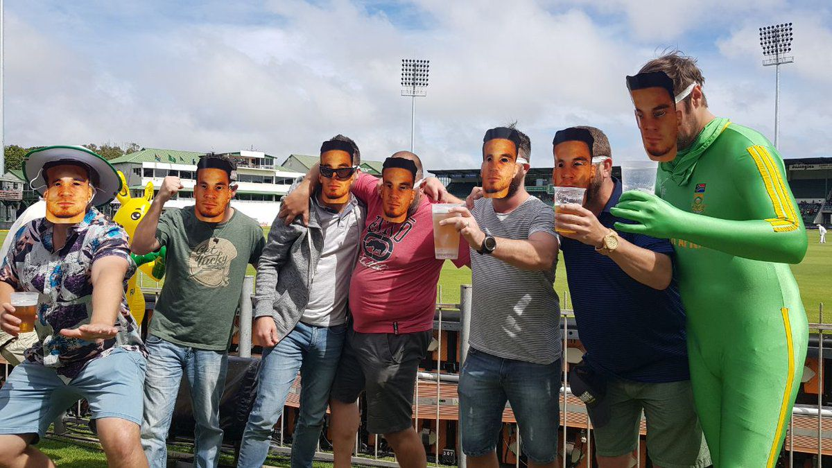 Cricket South Africa apologise for Sonny BIll Williams masks