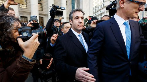 In August, Cohen pleaded guilty to other federal charges involving his taxi businesses, bank fraud and his campaign work for Donald Trump.