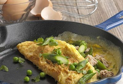 "Click here for our <a href=""http://kitchen.nine.com.au/2016/05/05/13/54/asparagus-pea-and-tuna-omelette"" target=""_top"">Asparagus, pea and tuna omelette</a>"