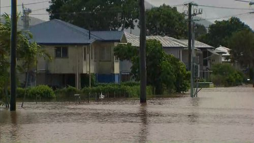 About 200 homes were inundated at Ingham, and some Innisfail residents also evacuated. (9NEWS)