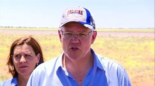 Prime Minister Scott Morrison has promised to 'rebuild the cattle industry' after much of North Queensland was left devastated by recent floodwaters that killed hundreds of thousands of stock.