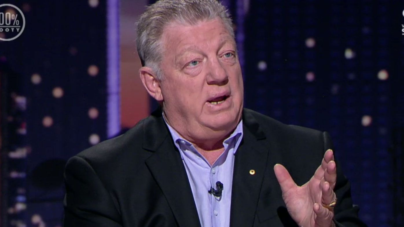 Phil Gould unloads on the MRC. (Nine)