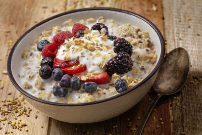 For homemade muesli (approx. 428 calories/100g)