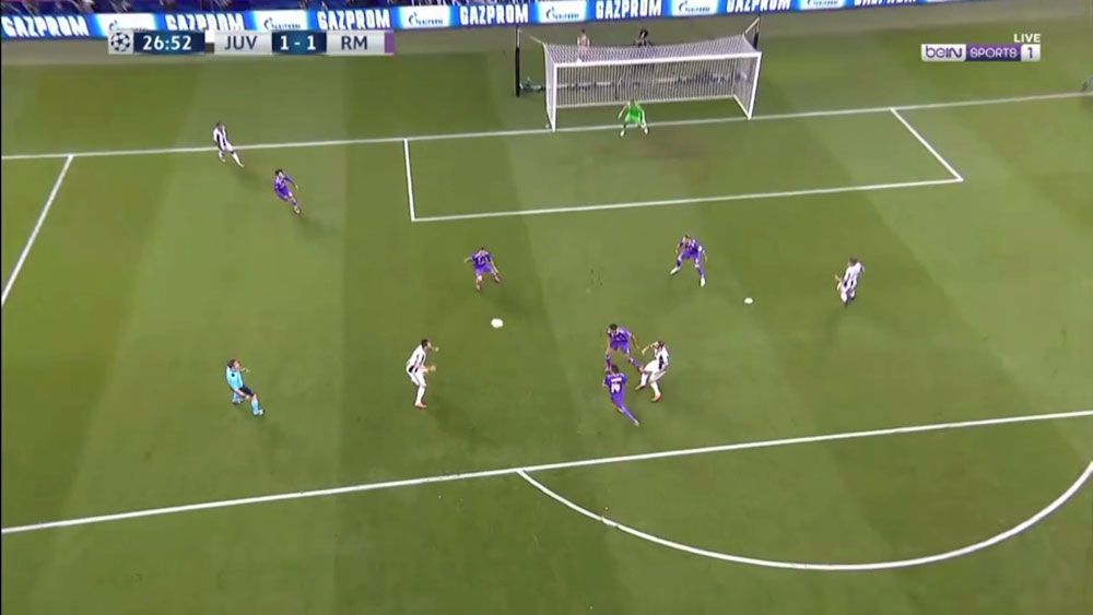 Juventus forward Mario Mandzukic scores stunner in Champions League final against Real Madrid